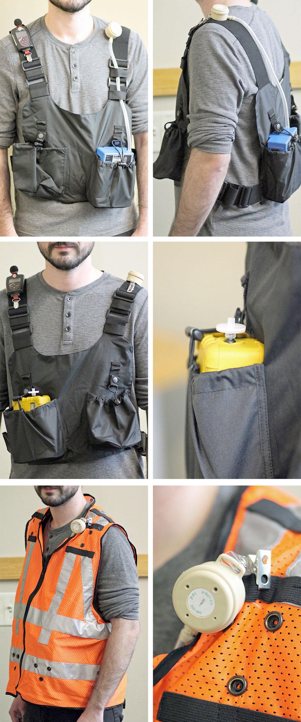 SGS Galson Personal Exposure Vest