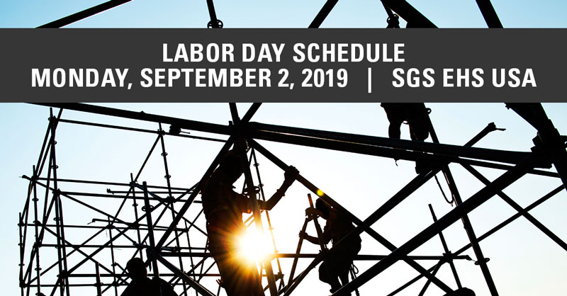 SGS Galson 2019 Labor Day Announcement