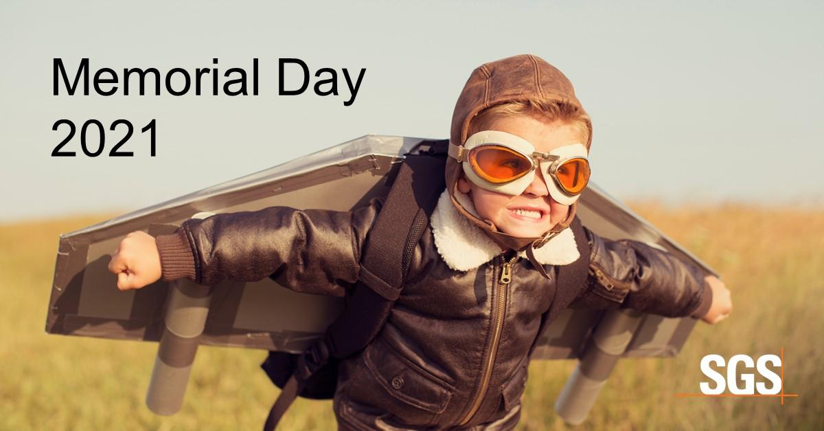 2021 Memorial Day Schedule